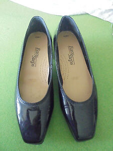 EASY STEPS SIZE 6 NWOT BLACK PATENT LEATHER LOW HEEL SHOES BOUGHT FOR $69.00
