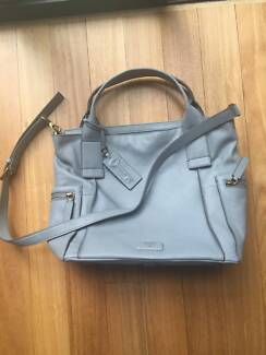 NWT Designer Authentic FOSSIL 'Emerson' leather satchel Concord Canada Bay Area Preview
