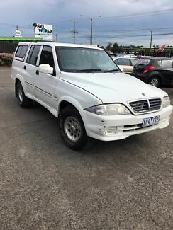 2006 Ssangyong Musso Ute Campbellfield Hume Area Preview
