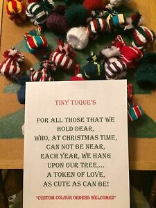 Tiny Tuques tree decorations Peterborough Peterborough Area image 1