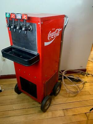 Vint Portable Coke Soda Pop Dispenser Machine Fountain Beer Kegerator Cornelius