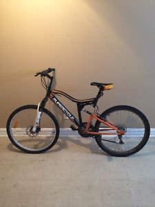 Men mountain bicycle