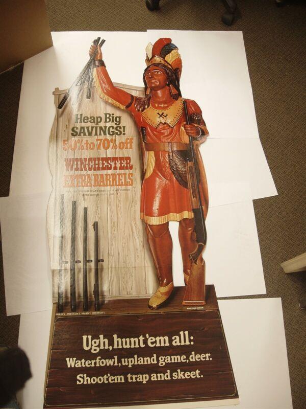 "Vintage 1967 Winchester Shotgun Barrel 61"" Indian Sign W/Box & Paperwork Mint"