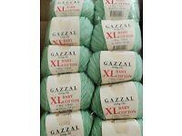 250g Wollpaket Amigurumi Babywolle Stricken Häkeln BABY COTTON Gazzal