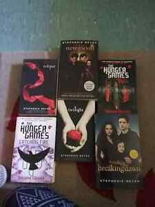 Books twilight and hunger games Busselton Busselton Area Preview