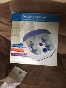 Electric foot bath