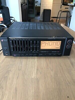 SANYO A75 Architect Series Hi Fi Amplifier & Graphic Equalizer Seperate