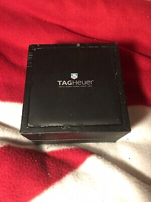 Pre owned Tag Heuer watch box for sale  Shipping to India