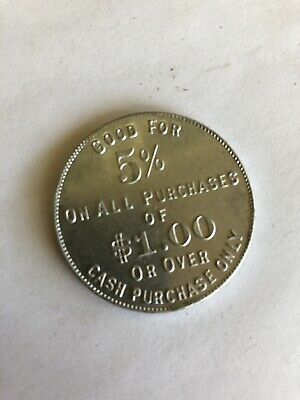 ACE Indian Motorcycle Dealer Token 1920s Chief Scout