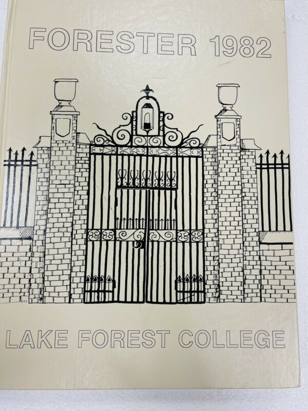 1982 LAKE FOREST ILLINOIS COLLEGE YEARBOOK - FORESTER