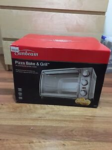 Sunbeam pizza bake and grill bench top oven brand new Grange Charles Sturt Area Preview