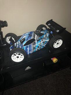 2 x rc nitro  buggy's 1:10 scale