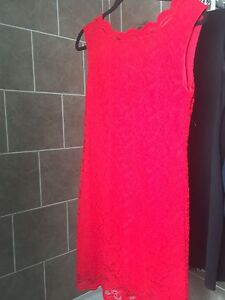Ladies Red lace dress