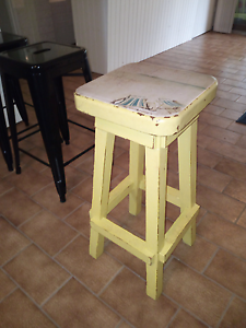 Unique shabby bar stool Oak Flats Shellharbour Area Preview