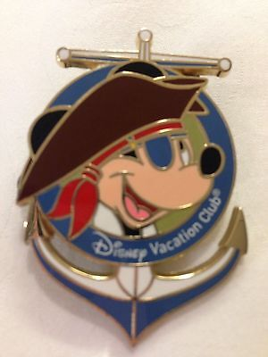Disney Cruise line Captain Mickey Pirate ANCHOR PIN DCL and DVC