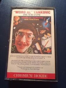 Weird Al Yankovic - Dare to be Stupid rate cassette