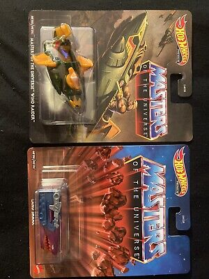 Hot Wheels Masters Of The Universe Land Shark And Wind Raider