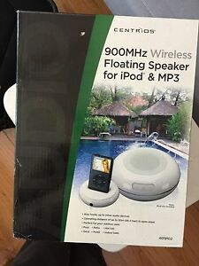 Centrios Wireless pool speaker for ipod and mp3 players NEW