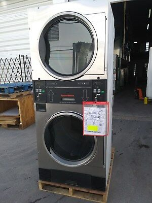 Speed Queen 30lb Stack Dryers -stainless Steel Stt30n