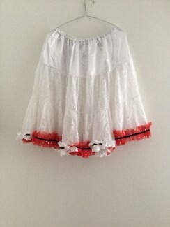 Net and satin petticoat size 12