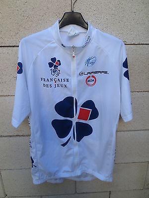 Maillot cycliste La Française des Jeux Tour de France 2006 UCI Pro...