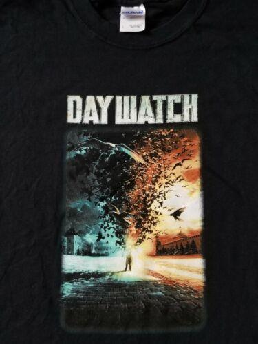 DAYWATCH MOVIE PROMO T-SHIRT L LARGE TEE BLACK PANDEMIC VTG 06 HORROR HYPEBEAST