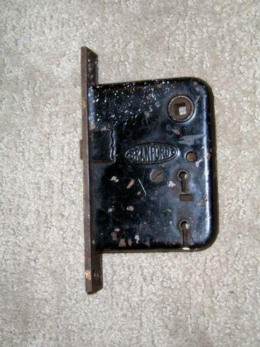 Vintage Branford Mortise Double Keyed Door Lock