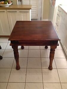 Solid Indonesian Wood Dining Table