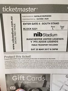 Manchester United ticket Perth match Kewdale Belmont Area Preview