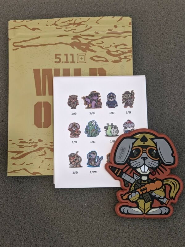 5.11 Tactical Patch Wild Ones Series 1 Rabbit Morale Patch