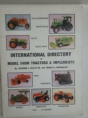 International Directory Of Model Farm Tractors Implements