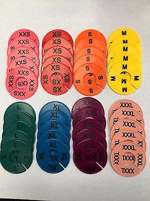 Saleclothing Size Dividers Xxs-xxxl 5 Each Size