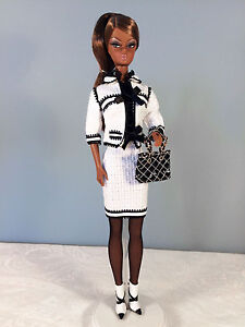 2008-Toujours-Couture-Barbie-Doll-AA-BFMC-Gold-Label-Silkstone-No-Box