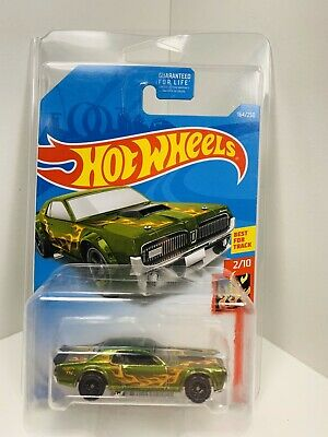 2018 Hot Wheels Super Treasure Hunt 68 Mercury Cougar W/ Protecto