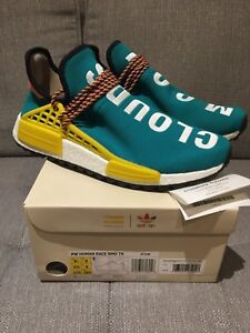 ADIDAS HUMAN RACE NMD TRAIL SIZE 9.5! TEAL BLUE! Brand new