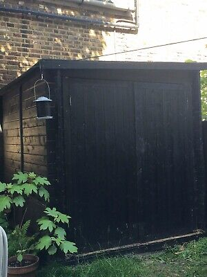 BillyOh Motorbike Shed - tongue & groove pressure treated 6 x 8