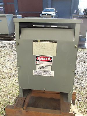 New Square D Sorgel Single Phase Transformer 15 Kva 600v Cat 15s5h .. Od-429