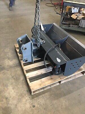 50 Hydraulic Ditching Grading Bucket For Case 5-6 Ton Mini Excavators.