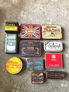 Vintage Tobacco/Rawleighs/Champion Tin Collection Lang Lang Cardinia Area Preview