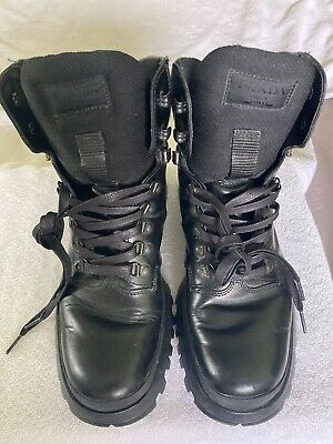PRADA Vintage leather combat boots size 8 UK.. 9 US RARE VERY NICE.