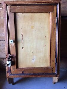 Antique Pine Medicine Cabinet