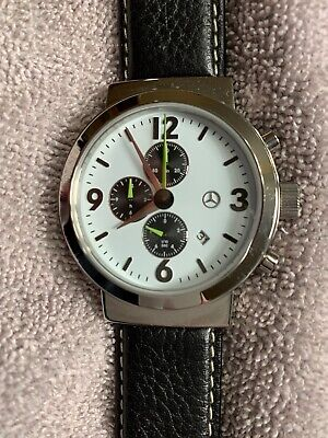 Mercedes Benz Classic Official Factory Accessory Chronograph Watch Vintage 2002