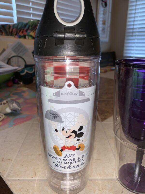 Disney Run Disney Food and Wine 2017 1/2 Marathon Tervis Water Bottle