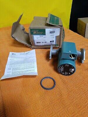 Taco 008-sf6 Hot Water Circulator Pump Stainless Steel 125 Hp 3gzw5