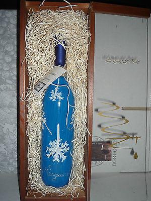 Cofezione Natale GRAPPA In Vetro soffiato dipinta a mano