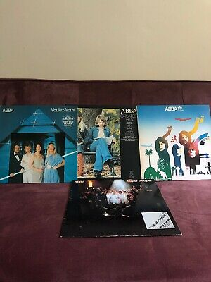 Abba Vinyl Record Lp Bundle