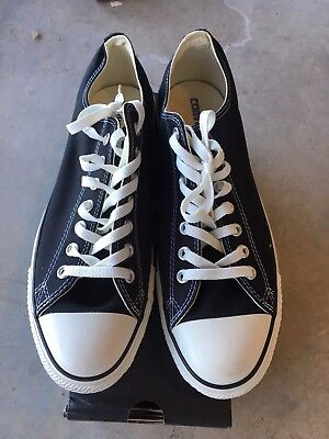 4764e9a435389c CONVERSE Chuck Taylor All Star Low Oxford Sneaker X9166 Black Size 11.5-15  NWD