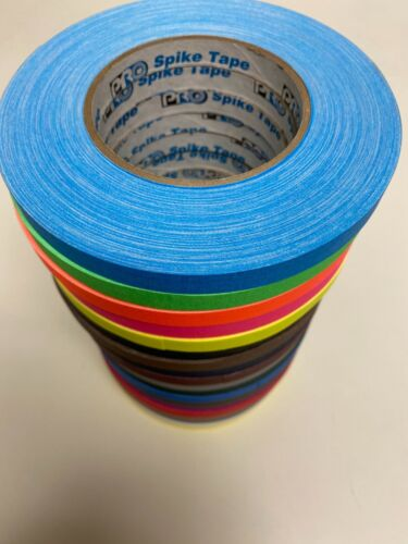 Pro Tapes Pro Gaff Spike Tape 1/2 inch X 45 yds. All colors (19) available