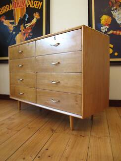 Retro Vintage Midcentury Chest Of Drawers Danish Design Era Hurstbridge Nillumbik Area Preview