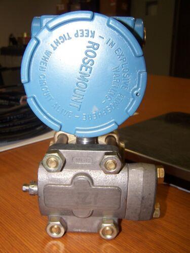 👀 ROSEMOUNT PRESSURE TRANSMITTER 0-300 PSI 10-50 MA 85 VDC MAX 1151GP7G44B2